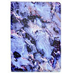Case For Apple iPad Air 2 iPad 10.5 iPad mini 4 iPad (2017) with Stand Pattern Auto Sleep/Wake Up Full Body Marble Hard PU Leather for
