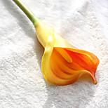 Недорогие -1 Филиал Полиуретан Калла Букеты на стол Искусственные Цветы