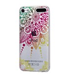 cheap -Case For Apple Ipod Touch5 / 6 Case Cover High Penetrating Powder IMD Mandala Soft TPU Phone Case