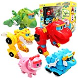 cheap -Robot Toy Boats Race Car Toys Dinosaur Animals Animals Animal Vehicles Animals Transformable Parent-Child Interaction Classic Animal Soft