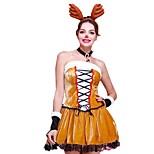 Недорогие -Новогоднее платье Женский Рождество Фестиваль / праздник Костюмы на Хэллоуин Коричневый Рождество