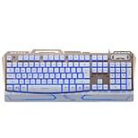Недорогие -чеканка panther g500 проводная USB-клавиатура поддержка клавиатуры для подсветки водонепроницаемая