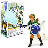 Недорогие -Аниме Фигурки Вдохновлен The Legend of Zelda Link 14 См Модель игрушки игрушки куклы