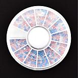 Недорогие -Орнаменты Аксессуары для инструментов Nail Art DIY Разноцветный Больше аксессуаров