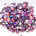 cheap -Rhinestones Crystal Fashion High Quality Daily Nail Art Design