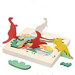 cheap -Wooden Puzzles Toys Animals Classic Theme Special Designed Focus Toy Relieves ADD, ADHD, Anxiety, Autism Parent-Child Interaction Wooden