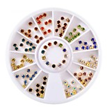 cheap -Ornaments Wheel Nail Jewelry Crystal Rhinestone Fashion High Quality Daily Nail Art Tips Nail Art Design Nail Art Tool
