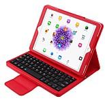 Недорогие -Кейс для Назначение Apple iPad 10.5 с клавиатурой Авто Режим сна / Пробуждение Сплошной цвет Мягкий для Apple
