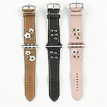 Недорогие -Ремешок для часов для Apple Watch Series 3 / 2 / 1 Apple Повязка на запястье Современная застежка Кожа