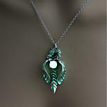 cheap -Men's All Illuminated Cool Pendant Necklace , Luminous Stone Alloy Pendant Necklace , Halloween Birthday