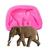 Недорогие -животное серии слон формы diy помада торт силиконовые формы шоколад для кексов украшения инструменты