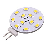 cheap -1pc 2W 180lm G4 LED Bi-pin Lights 12 LEDs SMD 2835 LED Lights Warm White Cold White 2800-3500;5000-6500K AC/DC 12V