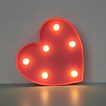 Недорогие -новинка вел ночь свет сердце 3d лампа для дома свадебное украшение настольная лампа