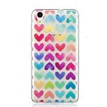 cheap -Case For Huawei Y6 II / Honor Holly 3 Nova Pattern Back Cover Heart Soft TPU for Huawei Y6 II / Honor Holly 3 Huawei Y5 II / Honor 5 Nova
