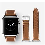 Недорогие -Ремешок для часов для Apple Watch Series 3 / 2 / 1 Apple Классическая застежка Кожа Повязка на запястье