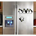 Недорогие -Животные абстракция Наклейки 3D наклейки Декоративные наклейки на стены Наклейки на холодильник,Бумага Украшение дома Наклейка на стену