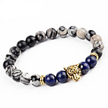 cheap -Men's Women's Bracelet Onyx Vintage Fashion Statement Jewelry Alloy Circle Leopard Jewelry Party Carnival