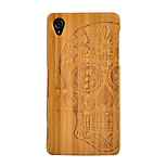 cheap -Case For Sony Xperia Z3 Shockproof Wood Grain Hard for Sony