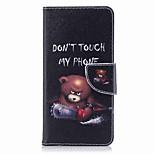 Недорогие -Кейс для Назначение Nokia Nokia 8 Nokia 6 Кошелек Бумажник для карт со стендом Флип С узором Чехол Слова / выражения Твердый