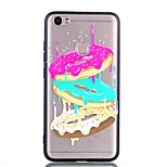 cheap -Case For Xiaomi Redmi Note 5A Redmi 5A Transparent Pattern Back Cover Food Hard Acrylic for Xiaomi Redmi Note 5A Xiaomi Redmi Note 4