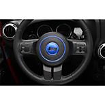 cheap -Automotive Steering Wheel Decor Frame DIY Car Interiors For Jeep 2017 2016 2015 2014 2013 2012 2011 Wrangler