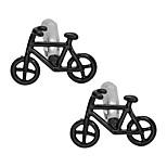 Недорогие -Велоспорт Черный Запонки Медь Классика Мода Повседневные Официальные Муж. Бижутерия
