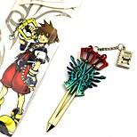 Недорогие -аксессуары для косплея, вдохновленные королевством сердца roxas аниме аксессуары для косплея другие хром
