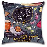 cheap -1 pcs Cotton/Linen Pillow Cover,Print Bohemian Style Retro