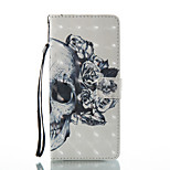 cheap -Case For Xiaomi Redmi Note 5A Redmi Note 4X Card Holder Wallet with Stand Full Body Skull Hard PU Leather for Xiaomi Redmi Note 4X Redmi