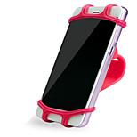 Недорогие -Мотоспорт Мобильный телефон держатель стенд Регулируемая подставка Тип пряжки Силикагель Держатель