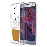 Недорогие -Кейс для Назначение Motorola E4 Plus 5 С узором Задняя крышка Продукты питания Мягкий TPU для Moto X4 Moto E4 Plus Moto E4
