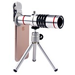 cheap -Mobile Phone Lens Long Focal Lens 18X Macro 35 3 70 Lens with Stand
