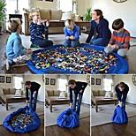 abordables -Enfants grand organisateur portable jouer mat jouets sac de rangement 150 cm xl