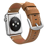Недорогие -Ремешок для часов для Apple Watch Series 3 / 2 / 1 Apple Повязка на запястье Классическая застежка Кожа