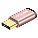preiswerte -CE-Link USB 2.0 Adapter, USB 2.0 to USB 3.0 Typ C Adapter Male - Female Kurz (unter 20 cm)