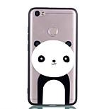 Недорогие -Кейс для Назначение Xiaomi Redmi Примечание 5A Redmi 5A Прозрачный С узором Задняя крышка Панда Твердый Акриловое волокно для Redmi Note
