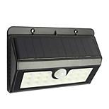 Недорогие -1шт 1W Солнечные LED панели Инфракрасный датчик Водонепроницаемый Декоративная Управление освещением Уличное освещение Холодный белый <5V