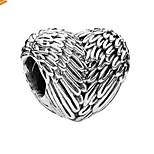 Недорогие -Ювелирные изделия DIY 1 штук Бусины Сплав Серебряный Сердце Шарик 0.5 cm DIY Ожерелье Браслеты