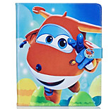 cheap -Case For Apple Shockproof with Stand Flip Pattern Auto Sleep/Wake Up Full Body Cases Cartoon Hard PU Leather for
