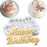 Недорогие -Формы для пирожных Печенье Шоколад Для приготовления пищи Посуда Для шоколада Для торта Для Cookie силикагель Антипригарное покрытие