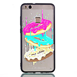 cheap -Case For Huawei P8 Lite (2017) P10 Lite Transparent Pattern Back Cover Food Hard Acrylic for P10 Lite P9 Lite P8 Lite (2017)