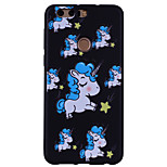 cheap -Case For Huawei Honor 9 Honor 8 Pattern Back Cover Unicorn Soft Silicone for Honor 9 Honor 8 Honor 6X