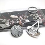 Недорогие -Значки Больше аксессуаров Вдохновлен Воин Ezio Аниме Косплэй аксессуары 1 кольцо 1 брошь