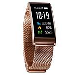 Недорогие -Смарт-часы Bluetooth Защита от влаги Израсходовано калорий Сенсорный датчик Контроль APP Импульсный трекер Педометр Датчик для