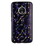 Недорогие -Кейс для Назначение Motorola G5 Plus G5 С узором Кейс на заднюю панель 3D в мультяшном стиле Мягкий ТПУ для Мото G5 Plus Moto G5 Мото G4