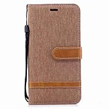 cheap -Case For Xiaomi Redmi Note 5A Card Holder Wallet Shockproof Flip Magnetic Full Body Cases Solid Color Hard Textile TPU for Xiaomi Redmi