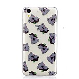 cheap -Case For Huawei Y6 II / Honor Holly 3 Nova Pattern Back Cover Animal Soft TPU for Huawei Y6 II / Honor Holly 3 Huawei Y5 II / Honor 5 Nova