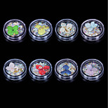 Недорогие -гвоздь ювелирные изделия металлический кристалл стильный прекрасный многоцветный дизайн ногтей