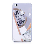 cheap -Case For Huawei P8 Lite (2017) P10 IMD Pattern Marble Soft for