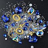 Недорогие -гвозди ювелирные изделия блестящие разноцветные украшения